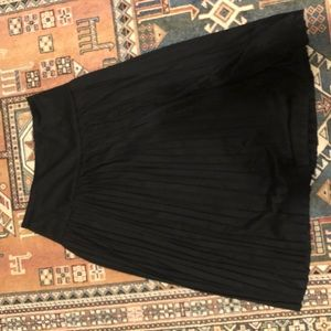 A New Day Pleated cotton skirt